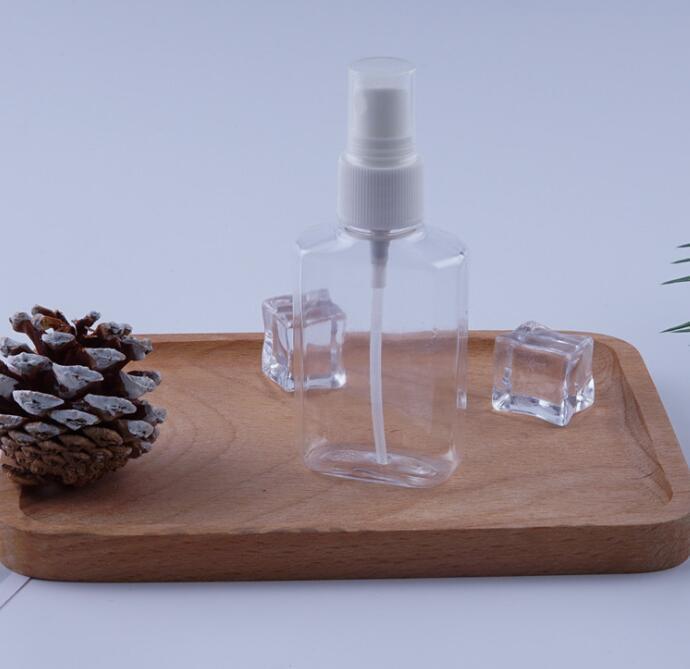 60ml 200ML 250ML 500ML Sanitizer Spray de garrafa plástica PET Frascos Hand Sanitizer PET garrafas de plástico lavagem à mão GGA3488-1
