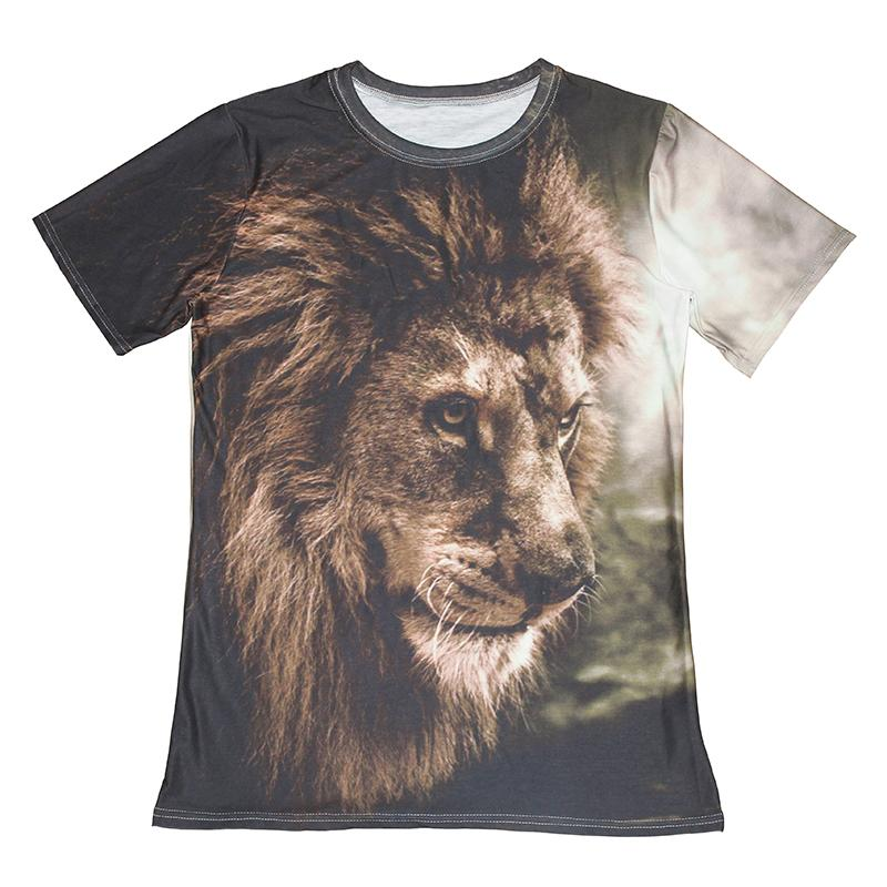 Casual 3D Print Cat T-Shirts Mens Womens Animal designer Tee shirt Graphic Tops
