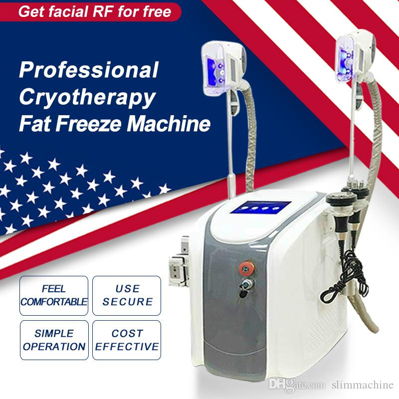 Original Cryolipolysis Fat Freezing Slimming Machine Cryotherapy Body RF Ultrasound Liposuction Lipo Laser Machine For Sale