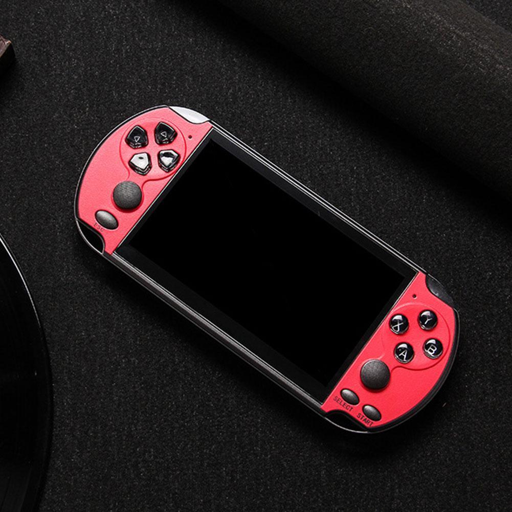 X7 Plus перезаряжаемый Double Rocker LCD 8G Music Video HD Фильмы камеры Портативные MP5 Детские консоли Handheld Game