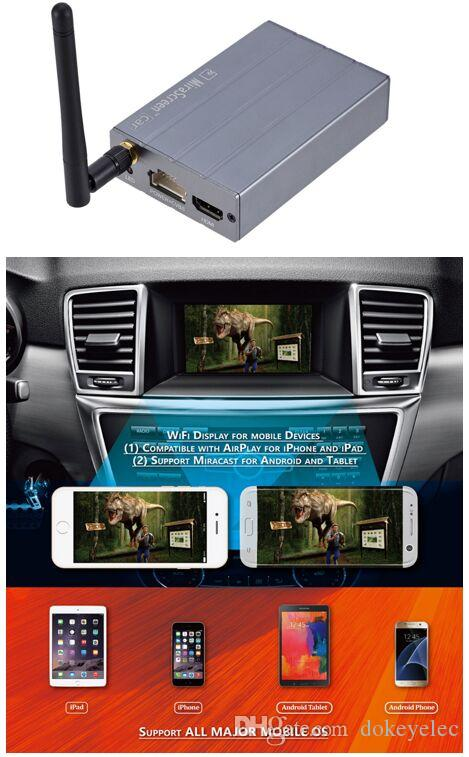 Car Wireless Airplay Mirror Link Box HDMI Miracast DLNA Android iOS WiFi Display