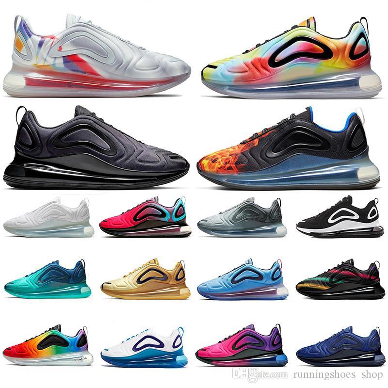 2020 Nuovo Capsula spaziale Tie Dye Running Shoes Orgoglio Branding Bold Be True tramonto Mare Foresta Total Eclipse all'aperto donne mens formatori sneaker