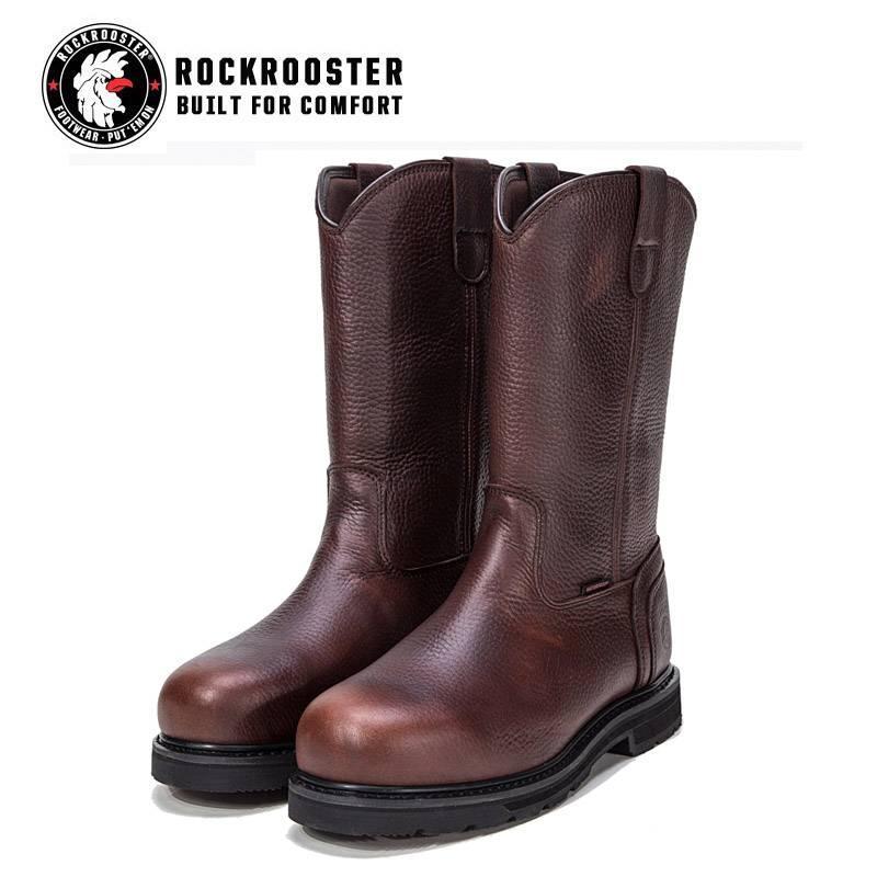 US ShippingROCKROOSTER Mens Work Boots
