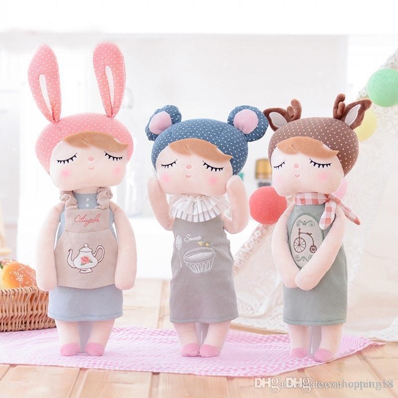 Sales Lovely Angela Baby Stuffed Doll Metoo Plush Toy Birthday Gift for kids Stuffed & Plus Animals dolls