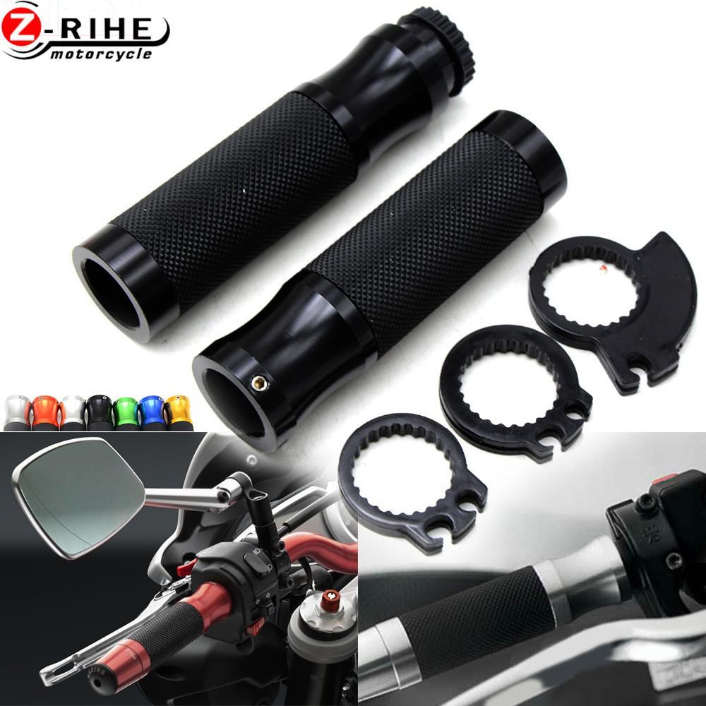 """Per CB1000R s1000xr Z650 Z750 Z1000 universale 7/8"""" 22 millimetri Accessori per motociclette prese di manubrio maniglia mano"""