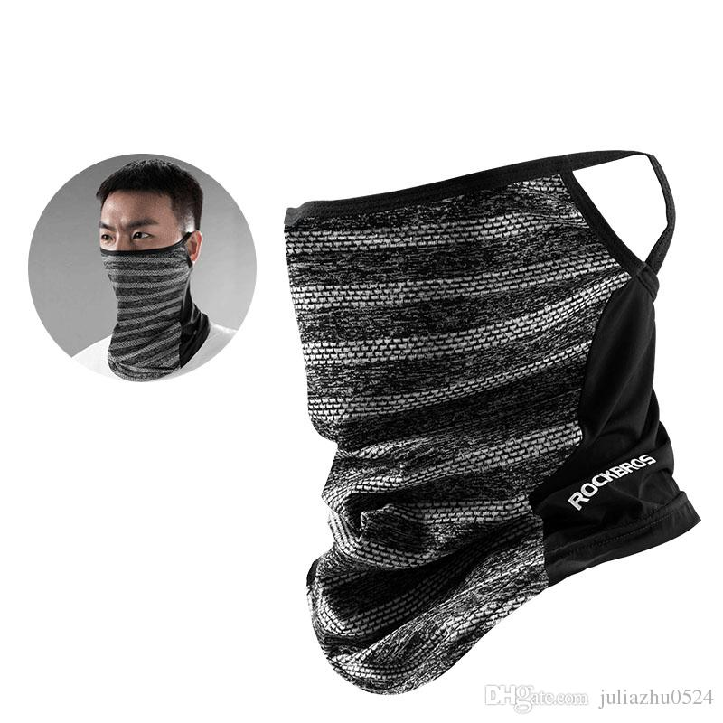 maschera antipolvere viso sportiva