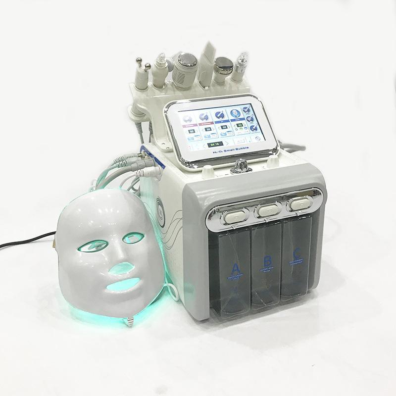 7 1 개 거품 기계 H2O2 유압 분쇄 산소 스프레이 얼굴 젊은 유압 박리 세탁기 검은 머리 박리