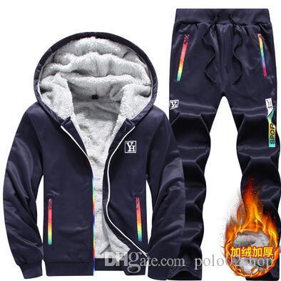 Livraison Gratuite + 2019 Suit nouveaux hommes sport Imprimer homme Pulls Pull Hip Hop Hommes Survêtement Sweat-shirts Vêtements