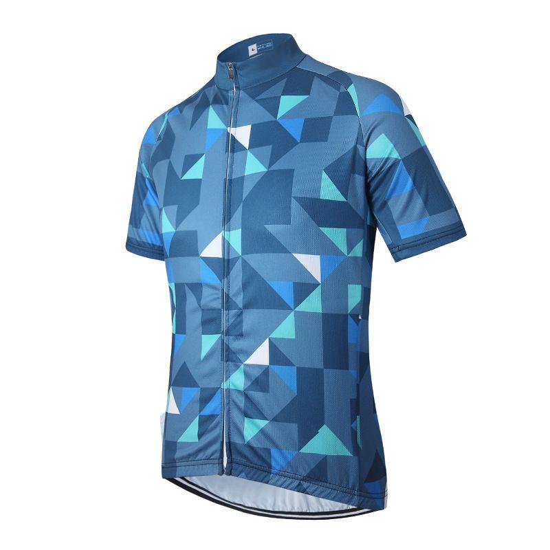 manica corta donne Quick Dry Cycling Jersey Estate MTB Bike ciclismo abbigliamento maglie unisex traspirante in bici da corsa degli uomini