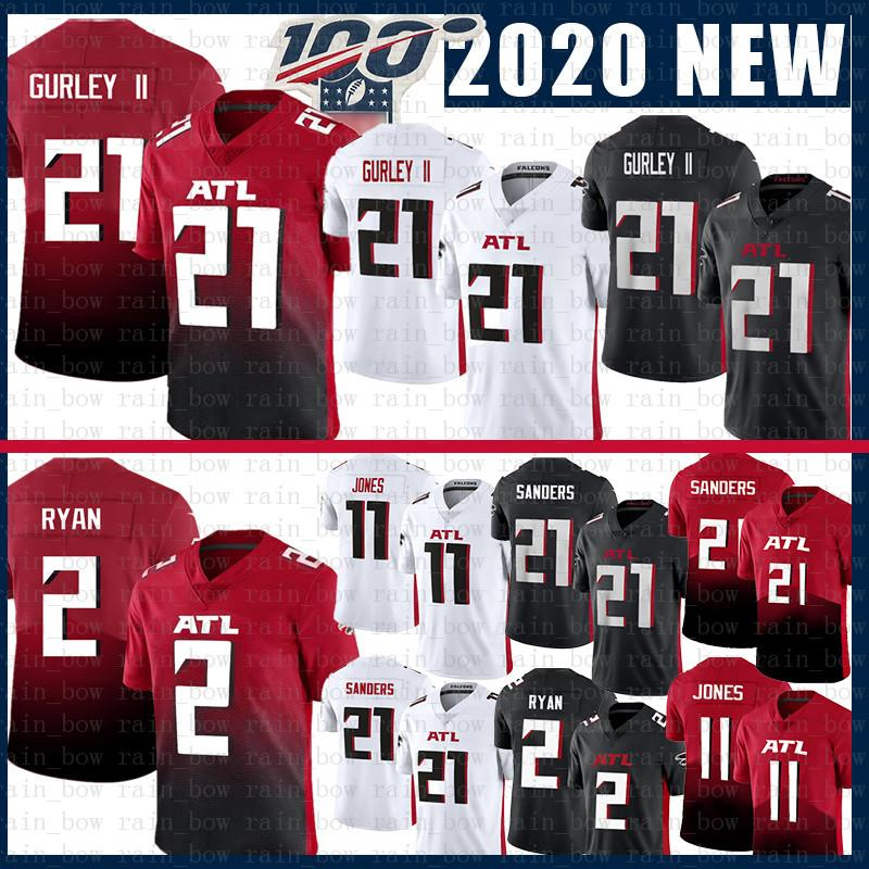 11 Julio Jones 21 Todd Gurley II 2020 VAPOR Limiteds Football Jersey Atlanta