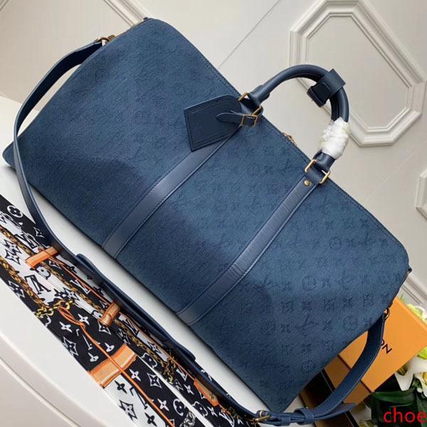 # 9707 5A L KeepAll bandoulière Grande Capacidade Mulheres Travel Bag 50CM Galaxy Taiga V Homens Ombro mochilas transporte de bagagem Handbag Bag M44644