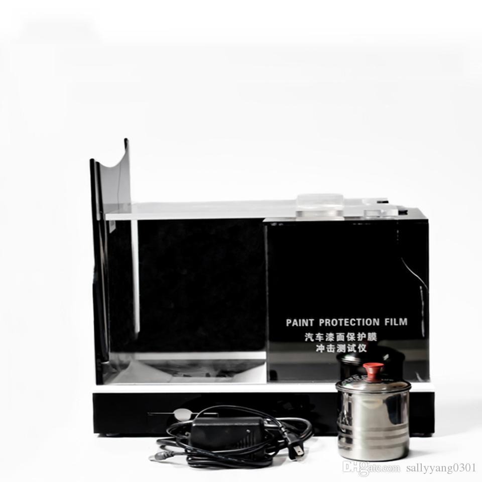 Последние фильмы PPF TPU PPF Scratch Testing Высококачественные автомобильные краски защита пленки тест машины Grovelometer с 3 шт. Металлические капюшоны MO-624