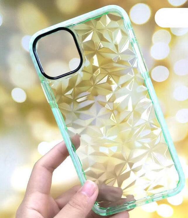 Lusso diamante TPU della cassa del telefono di iPhone 11 Pro Max XS XR X 8 7 6 Plus Two Tone colorato la copertura posteriore antiurto