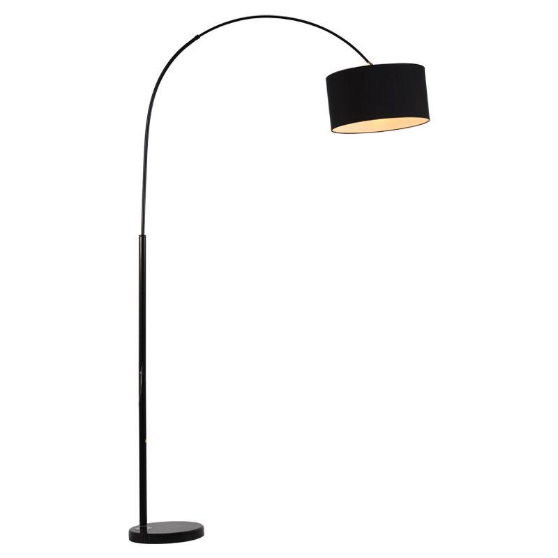 Zemin Lambası LED Nordic Uzaktan Kumanda Oturma Odası Yatak Odası Için LED Zemin Lambası Basit Net Kırmızı Ins Balıkçılık Lampara Pasta Ev Dekor