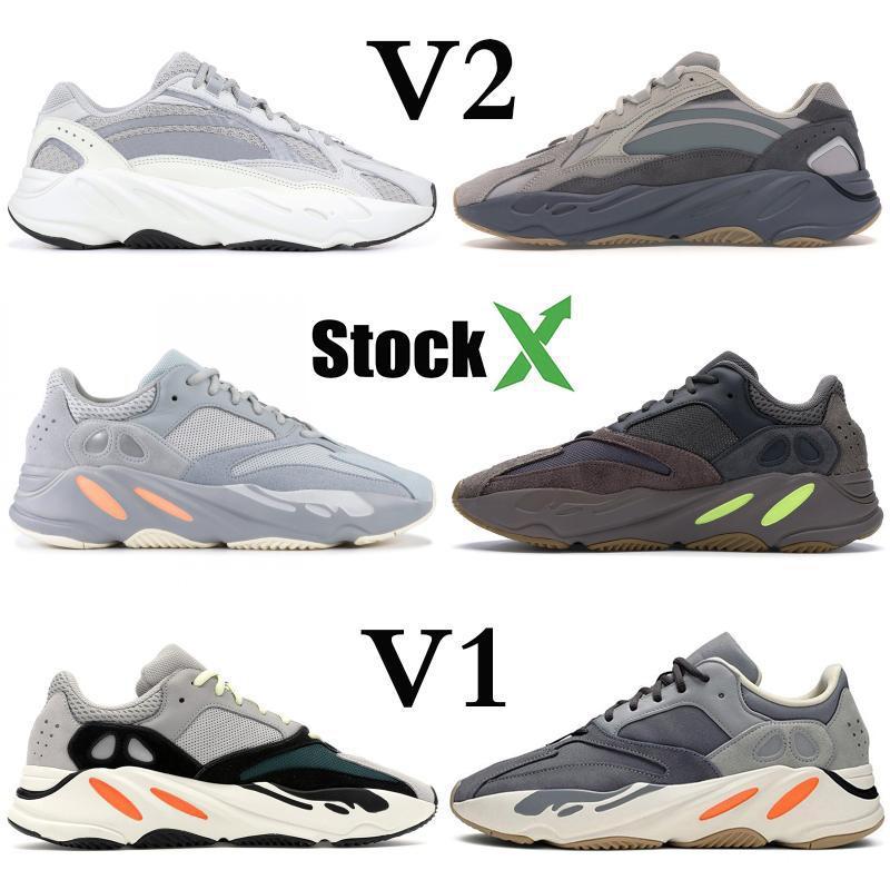Yansıtıcı 700 Dalga Runner Atalet Tephra Katı Gri Utility Siyah Vanta Basamak ayakkabı erkekler Tasarımcı Ayakkabı Kadınlar Statik Sneakers 36-46
