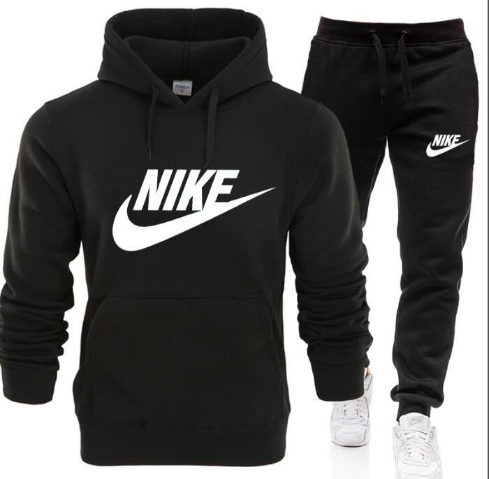 2021 NIKE Mens Casual Tracksuits Letter Print ...