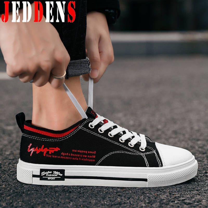 Sapatos de desporto dos homens Top Low macia Flats Preto Sneakers peso leve sapatos de desporto masculino Canvas Homens Running Outdoor Trainers Q37