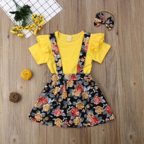 패션 여름 가족 옷 세트 아동 아기 소녀 프릴 코튼 T 셔츠 서스펜더 투투 스커트 가족 의상을 일치 탑