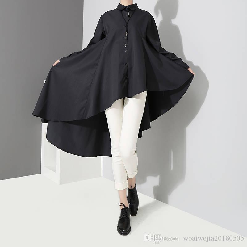 20190904 Hemd, Langarm, mittelgroßes und langes Kleid