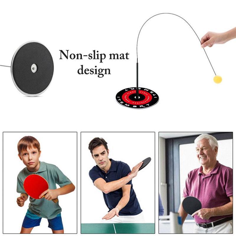 Çocuk Oyuncakları Masa Tenisi Trainer Elastik Yumuşak Mili Kapalı Açık Spor Egzersiz Ping Pong Topu Ebeveyn Çocuk Oyunu Çocuk Hediyeler
