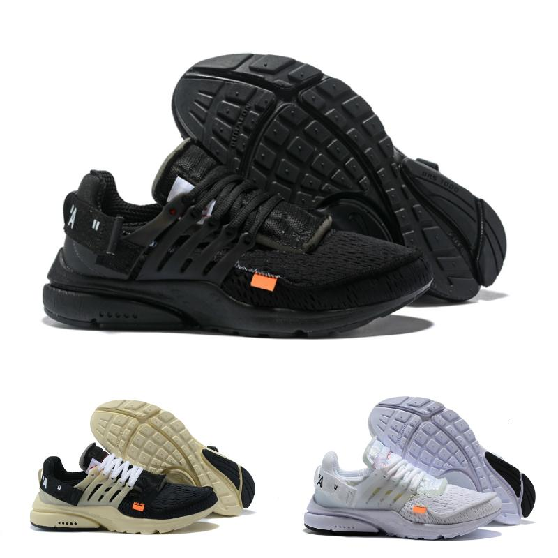 Vente chaude 2020 New Presto sports Course à pied Noir Blanc Chaussures Coussin bon marché prestos Femmes Hommes Entraîneur Chaussures de sport 36-45