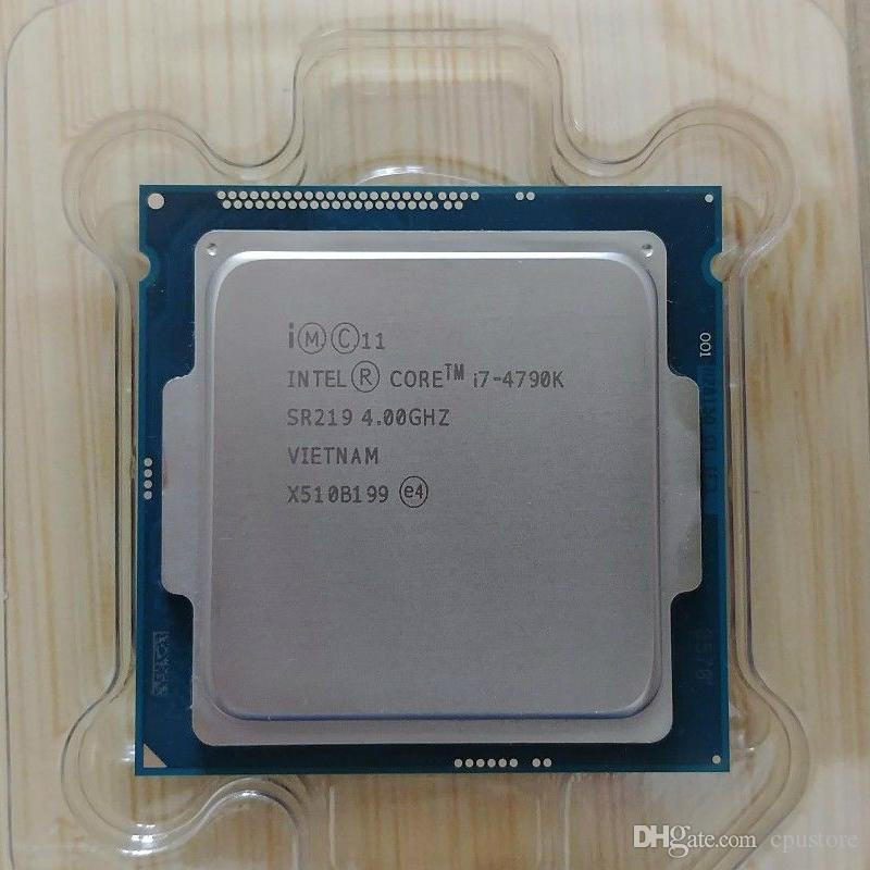 Intel Core i7 4790K 4.0GHz Quad-Core 8MB Cache With HD Graphic 4600 TDP 88W Desktop LGA 1150 CPU Processor