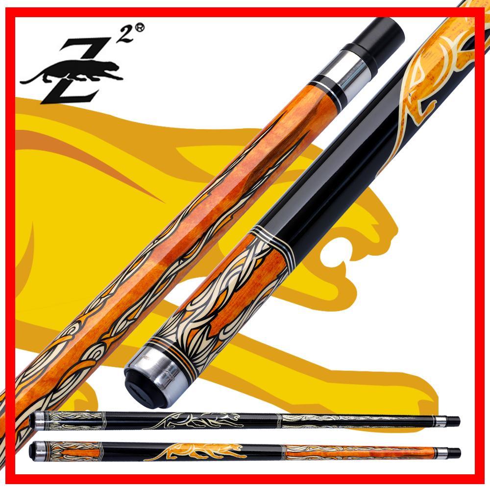PREOAIDR 3142 Z2 Pool Billiard Cue Stick 11,5 millimetri Consigli 12,75 millimetri con giunti di protezione 2 colori Nero 8 Professional 2019