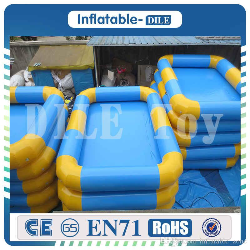 Free Shipping 6x3 meter Inflatable Swimming Pool Giant Inflatable Above Ground Square Pool with Factory Price