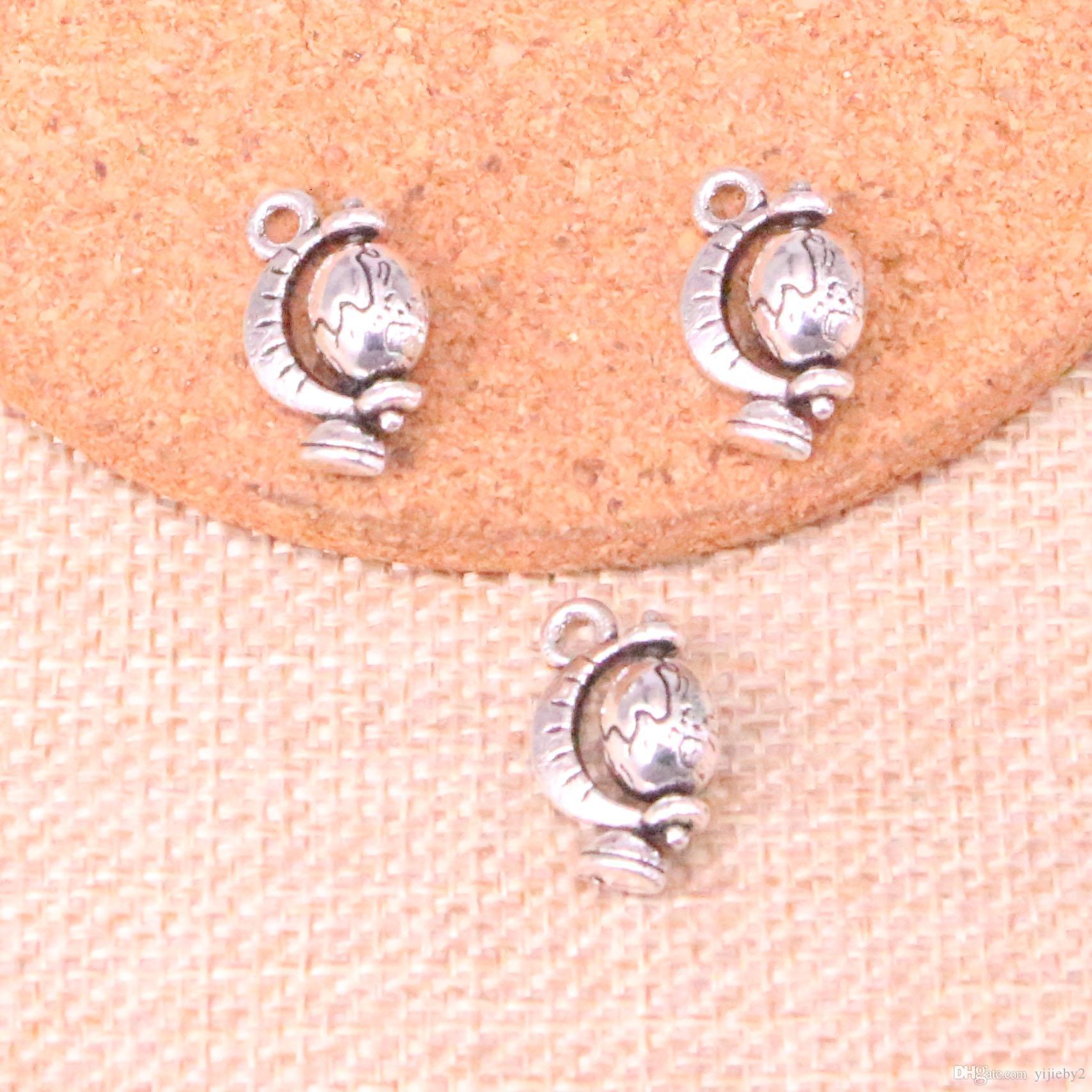 83pcs nastro antico tellurico globo fascino della collana del pendente DIY del braccialetto del braccialetto risultati 17 * 12mm