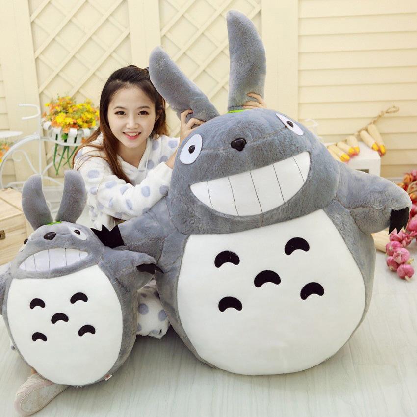 Regalo del animado de Mi vecino Totoro muñeca de la felpa suave de los animales de peluche de regalo amortiguador de la almohadilla