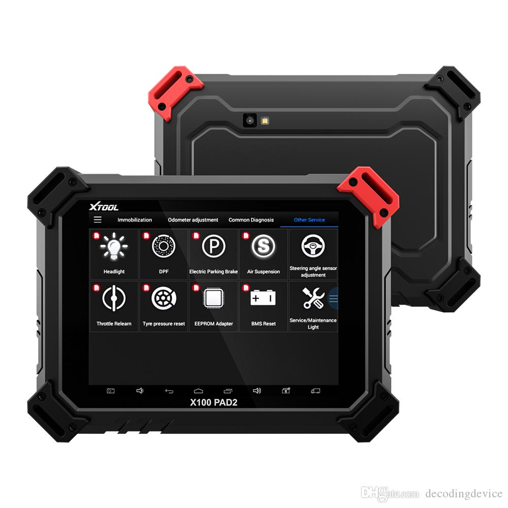 X100 PAD2 OBD2 Auto Key Programmer Odometer Correction Tool Code Reader Car Diagnostic tool with Special Function