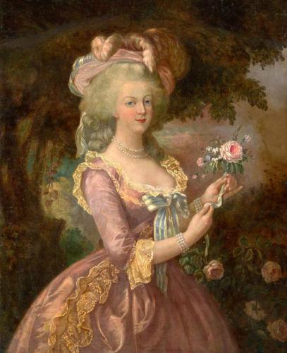 Rainha Marie - Antoinette de France Home Decor pintado à mão HD impressão pintura a óleo sobre tela Wall Art Canvas Pictures 032