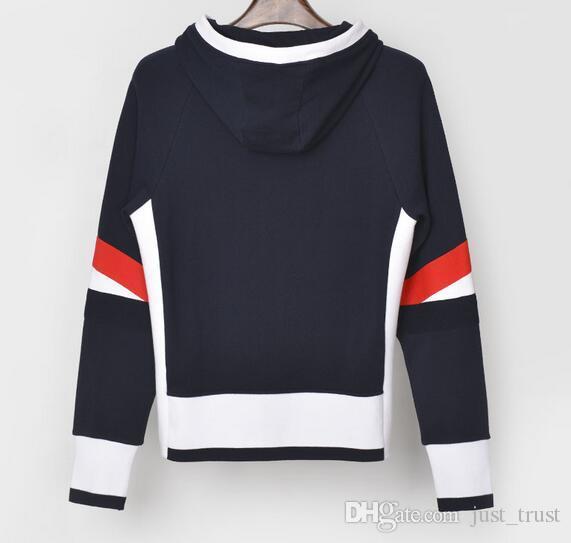 2019 New Top Autunno Tide TB maglione a strisce sport Tuta Thom B rowne spessore caldo Hiphop Streetwear giapponese Survêtement Designer Pullover