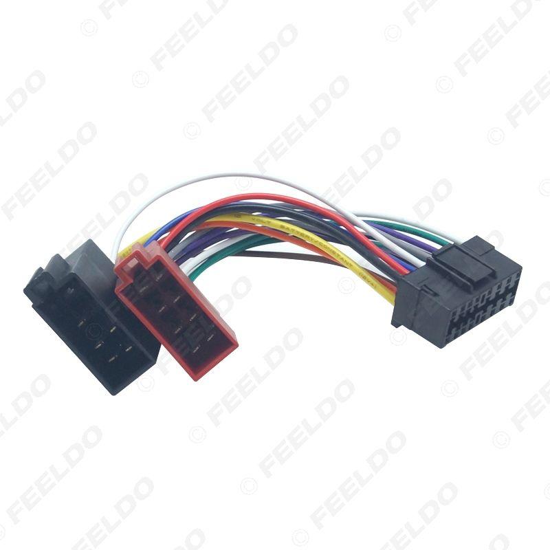 speaker wiring harness adapter 2020 feeldo car radio cd dvd stereo iso wiring harness adapter for  2020 feeldo car radio cd dvd stereo iso