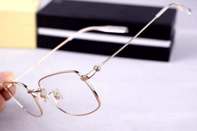 Nuovo 0076O ultra-light full-frame occhiali miope moda montatura di occhiali di moda business casual montatura per occhiali degli uomini del telaio