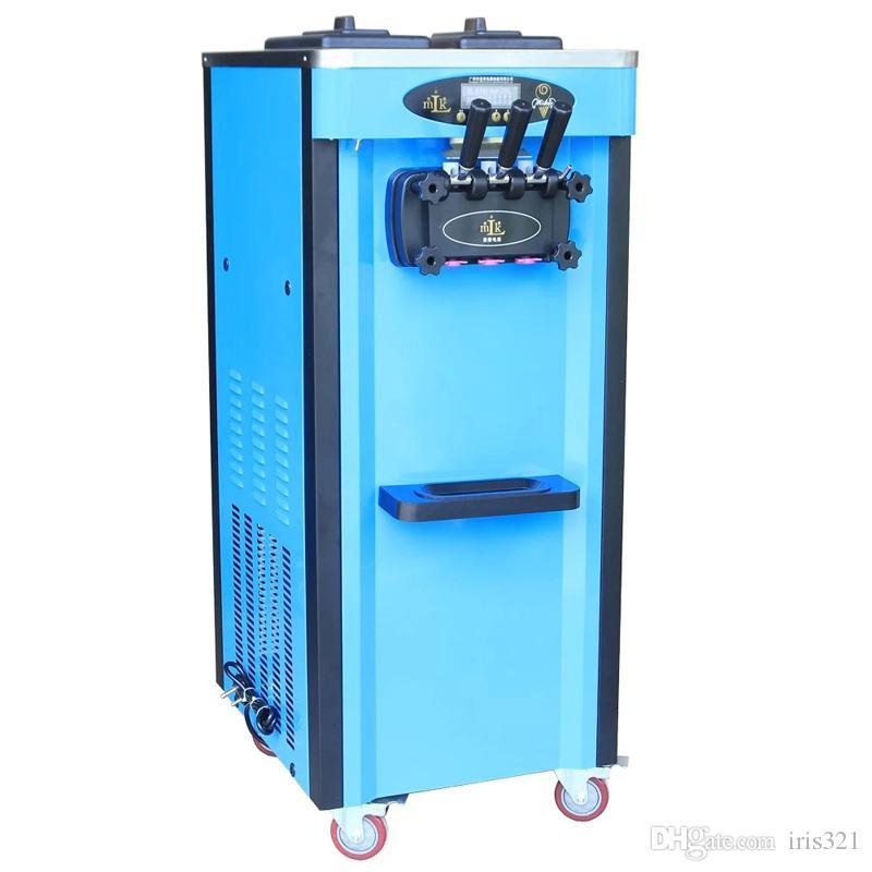 2019Global beste Qualität 304 Edelstahl Eismaschine / 3 begünstigt Softeismaschine Maschine