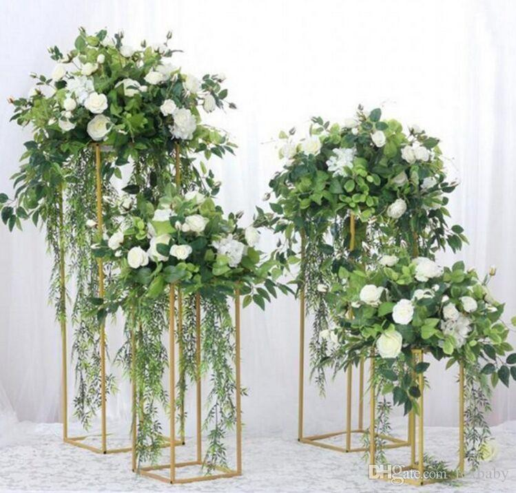 DHgate.com & Floor Vases Flowers Vase Column Stand Metal Pillar Road Lead Wedding Centerpieces Rack Event Party Christmas Decoration Kid Party Supplies Kids ...