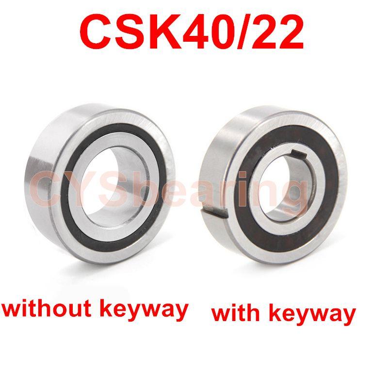 CSK40 / 22 CSK40PP 40x80x22mm блокиратор Один из способов подшипника Keyway SPRAG Свободное колесо Backstop сцепления