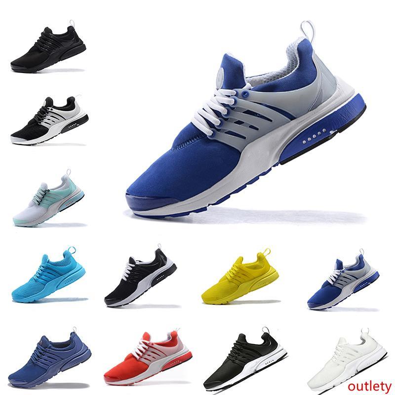 Venta Nuevo prestos 5 Operando Hombres Mujeres Zapatos de Presto barato Aire Ultra BR QS Amarillo Negro Blanco esencial de baloncesto zapatillas de jogging