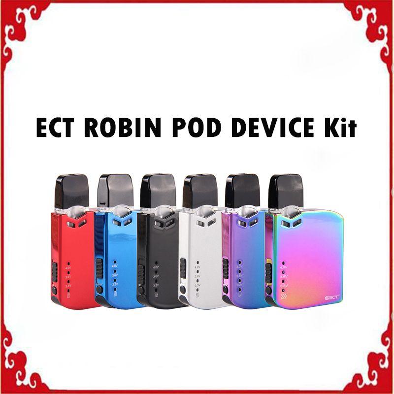 الأصلي ect روبن قرنة كيت السيجارة الإلكترونية vv مربع mod kit 0.5 ملليلتر خرطوشة vape القلم المحمولة 6 الألوان المتاحة 0268117-1