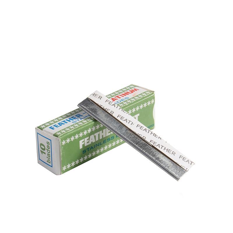 Premium-Edelstahl-Stickerei Sicherheitsaugenbraue Messer Werkzeug Qualitäts-Augen-Gesichts-Augenbrauen-Klinge-Verfassungs-Werkzeug