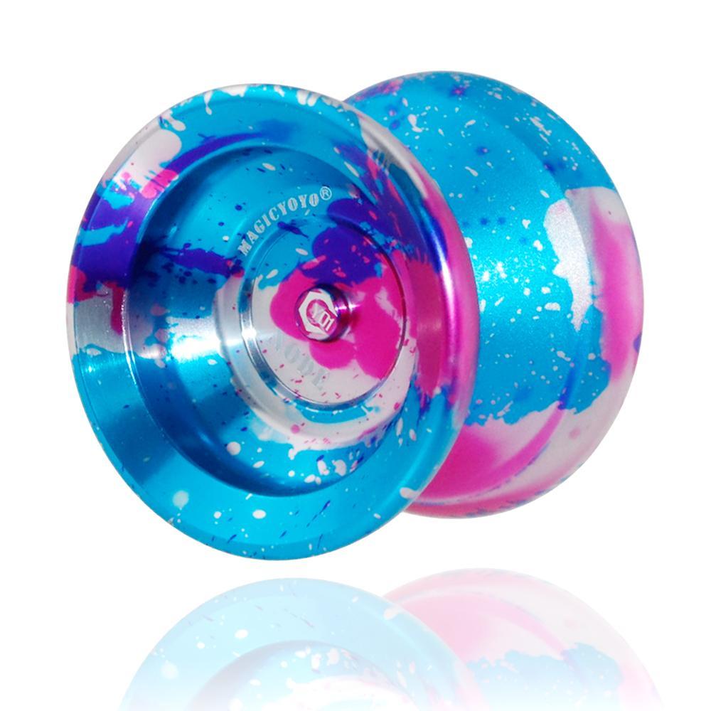 Магия YoYo Y01Series профессиональный металл yo-yo y01 узел игрушка высокая скорость 10 шарикоподшипники специальные yo подарок игрушки для детей Y200428