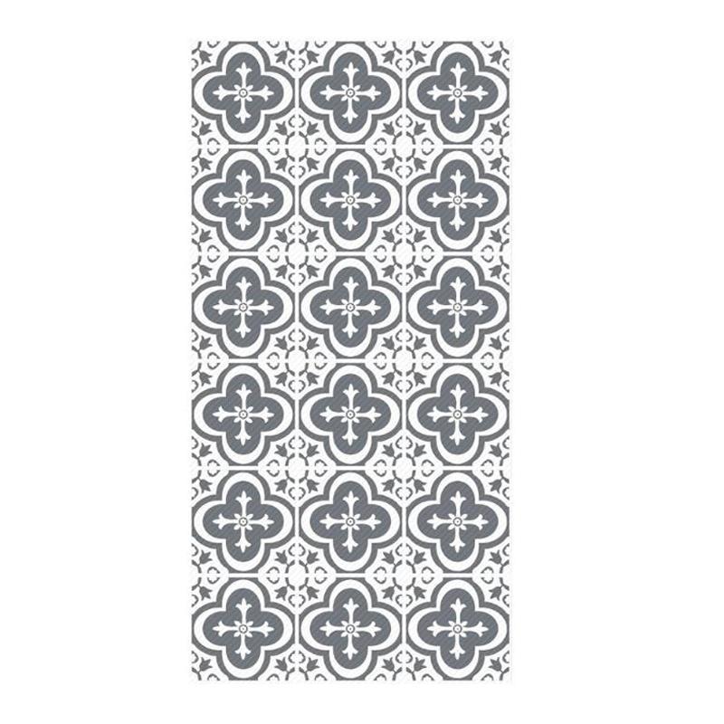 Grey Brick Floor Sticker Self-adhesive Waterproof Non Slip Wear Resisting Ground Sticker bathroom Kitchen Living Room Bedroom Decor
