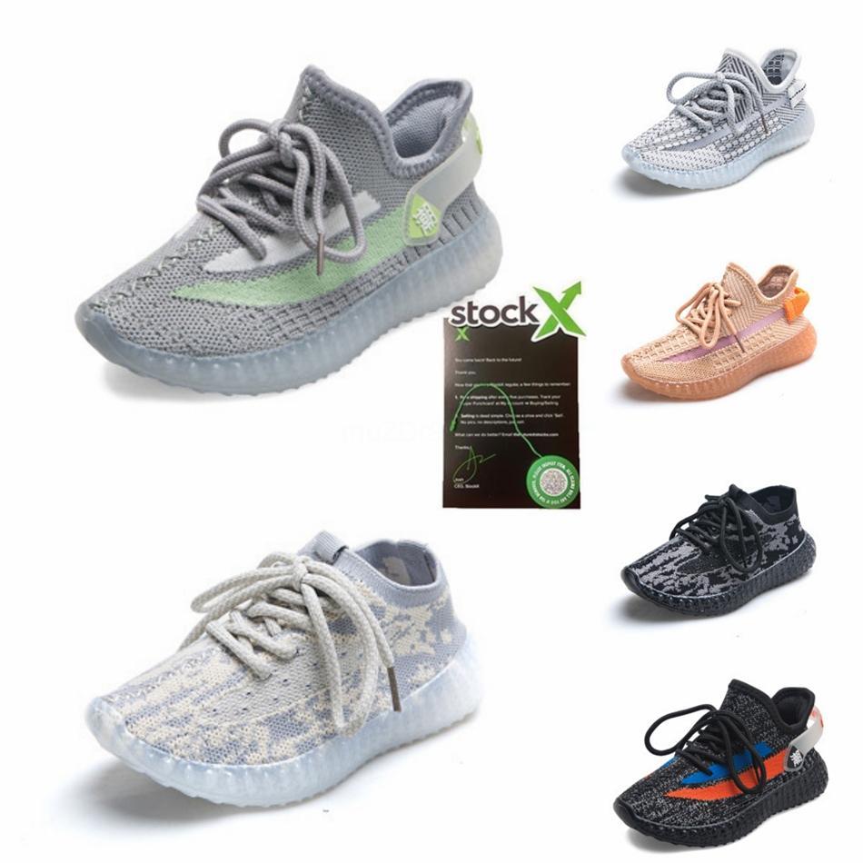 2020 New Fashiony3 Freizeitschuhe Stiefel Kanye West Y-3 Rot Weiß Schwarz Hoch-Spitze Kinder Sneakers Wasserdichte echtes Leder # 739