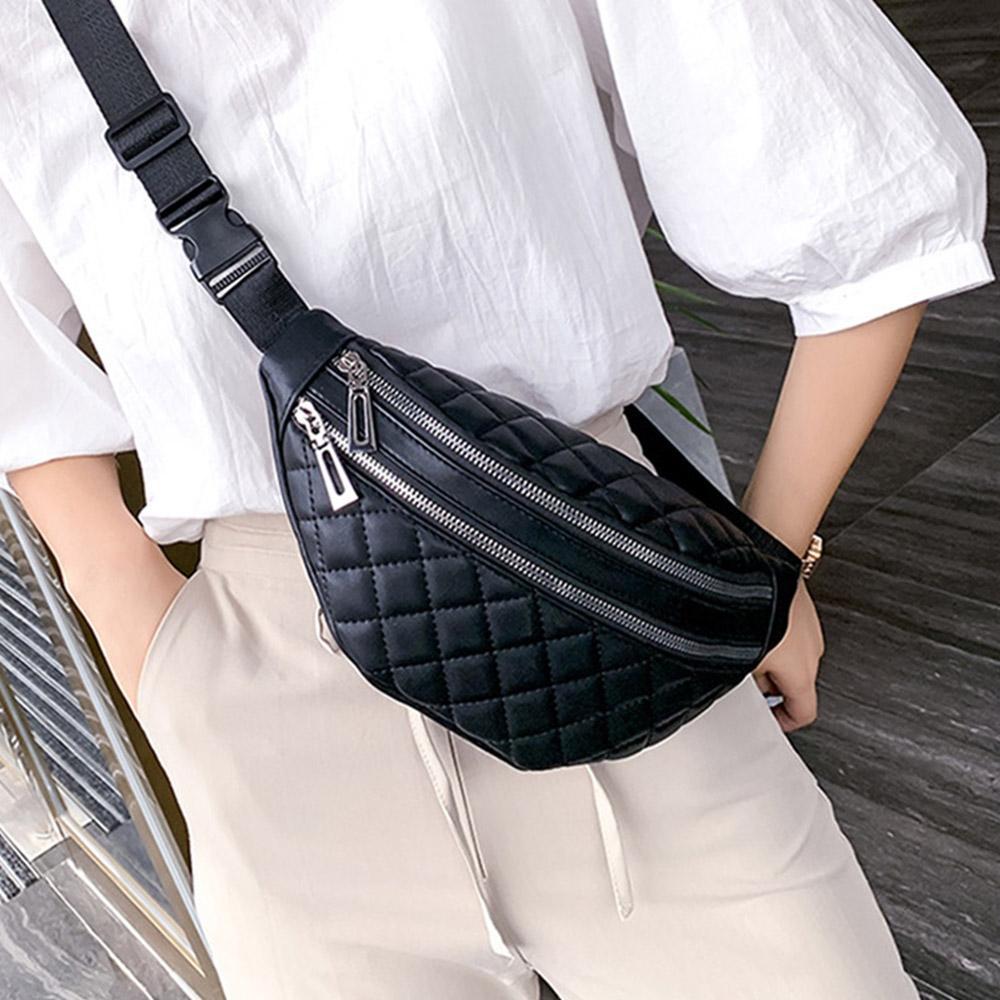 Женщины талия сумки пакеты Кожа Фанни пояс сумка высокого качество плечо Sac Pochete Feminina Мода Грудь Crossbody сумка