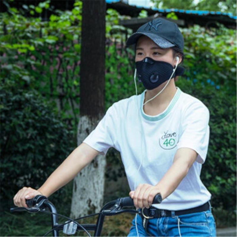 El más reciente reemplazable de 5 capas de la mascarilla del PM2,5 con polvo de carbón activado Pm 2,5 s Aire Máscara # QA881