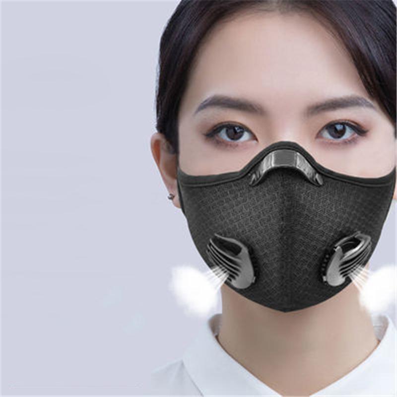 Abd Yüz Maskesi toz geçirmez Karşıtı Gaz PM2.5 Karbon Yetişkin Mask'ın s Kf94 Tüm # QA351