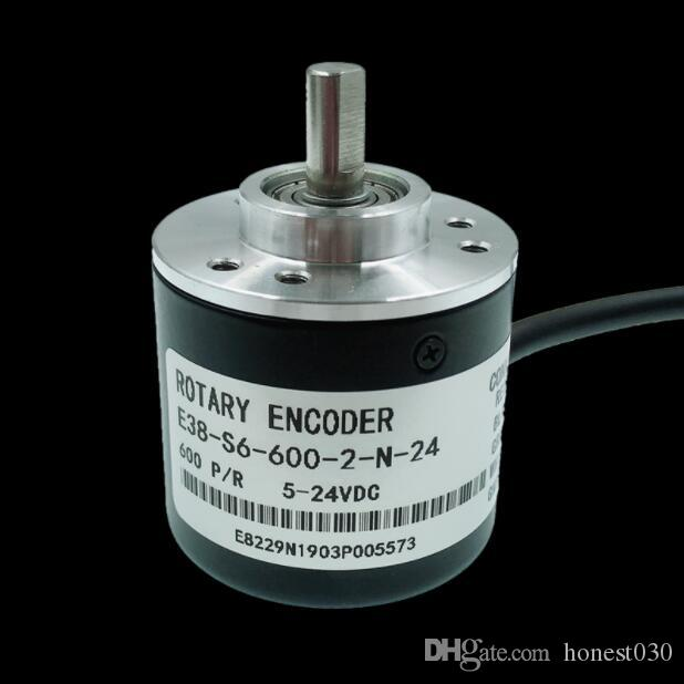 Incremental photoelectric rotary encoder / 600 pulse line NPN AB two-phase 5-24V