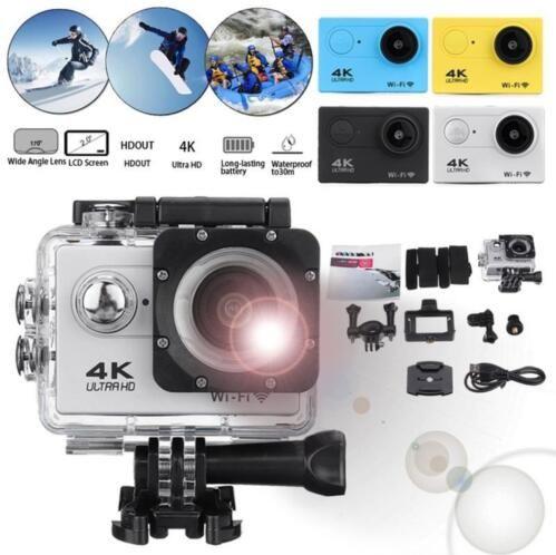 SJ9000 Eylem Kamera Ultra Hd 4 k 30 m Wifi 2.0 170d Ekran 1080 p Sualtı Su Geçirmez Spor Kamera HD DVR DV Gitmek Aşırı Pro Kamera