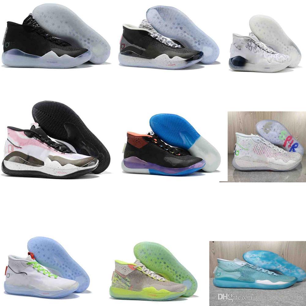 Мужские Кроссовки New KD 11 EP оригинальный Foam Pink Paranoid Oreo ICE Баскетбол обувь Оригинального Дюрант XI KD11 кроссовки Размер 7-12